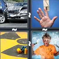 4 Pics 1 Word level 808