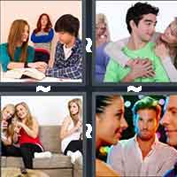 4 Pics 1 Word level 10-9 7 Letters