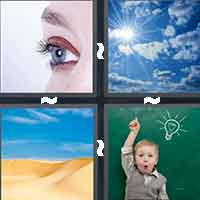 4 Pics 1 Word level 11-13 6 Letters