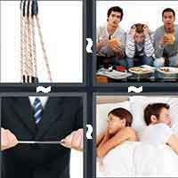 4 Pics 1 Word level 10-12 7 Letters