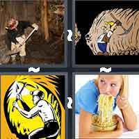 4 Pics 1 Word level 888