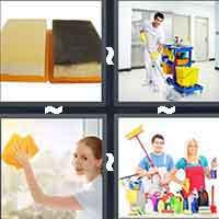 4 Pics 1 Word level 900