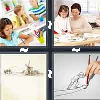 4 Pics 1 Word level 11-8 7 Letters