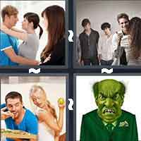 4 Pics 1 Word level 15-1 4 Letters