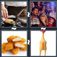 4 Pics 1 Word level 12-1 7 Letters