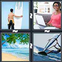 4 Pics 1 Word level 15-8 4 Letters