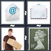 4 Pics 1 Word level 15-9 4 Letters