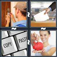 4 Pics 1 Word level 991