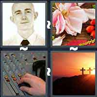 4 Pics 1 Word level 16-7 4 Letters