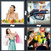 4 Pics 1 Word level 12-7 7 Letters