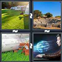 4 Pics 1 Word level 16-10 4 Letters
