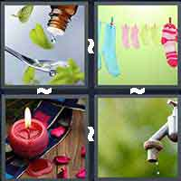 4 Pics 1 Word level 16-11 4 Letters