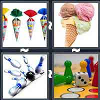 4 Pics 1 Word level 16-12 4 Letters