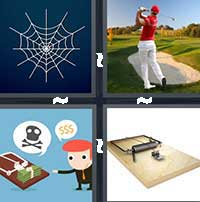 4 Pics 1 Word level 16-15 4 Letters