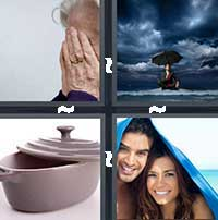 4 Pics 1 Word level 13-5 7 Letters