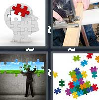 4 Pics 1 Word level 16-8 6 Letters
