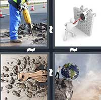 4 Pics 1 Word level 15-7 7 Letters