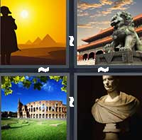 4 Pics 1 Word level 17-10 6 Letters