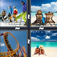 4 Pics 1 Word level 16-9 7 Letters