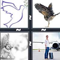 4 Pics 1 Word level 20-1 4 Letters