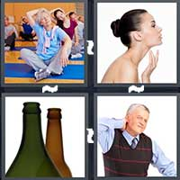 4 Pics 1 Word level 20-8 4 Letters