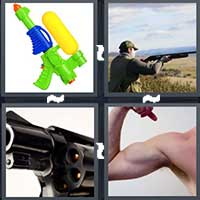 4 Pics 1 Word level 7-2 3 Letters