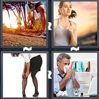 4 Pics 1 Word level 8-3 3 Letters