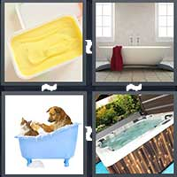 4 Pics 1 Word level 8-4 3 Letters