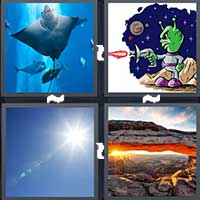 4 Pics 1 Word level 8-7 3 Letters