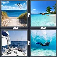 4 Pics 1 Word level 8-13 3 Letters