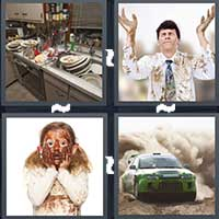 4 Pics 1 Word level 22-9 4 Letters