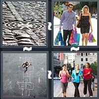 4 Pics 1 Word level 1596