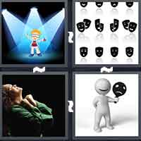 4 Pics 1 Word level 9-2 3 Letters