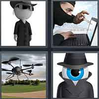 4 Pics 1 Word level 10-13 3 Letters