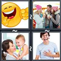 4 Pics 1 Word level 18-6 8 Letters