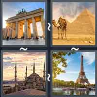 4 Pics 1 Word level 18-10 8 Letters