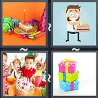 4 Pics 1 Word level 18-12 8 Letters