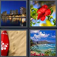 4 Pics 1 Word level 19-6 8 Letters