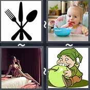 4 Pics 1 Word level 2436