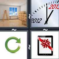 4 Pics 1 Word level 11-9 3 Letters