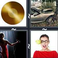 4 Pics 1 Word level 12-1 3 Letters