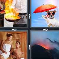4 Pics 1 Word level 12-10 3 Letters