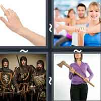 4 Pics 1 Word level 12-15 3 Letters
