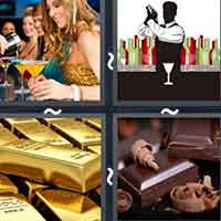 4 Pics 1 Word level 13-2 3 Letters