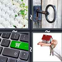 4 Pics 1 Word level 13-3 3 Letters