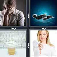 4 Pics 1 Word level 20-9 8 Letters