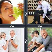 4 Pics 1 Word level 13-15 3 Letters