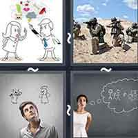 4 Pics 1 Word level 20-14 8 Letters