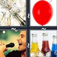 4 Pics 1 Word level 14-3 3 Letters