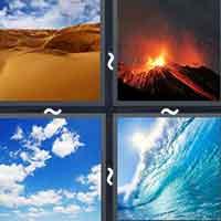 4 Pics 1 Word level 2898